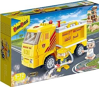 Banbao Fire Truck Local Tobee and Fireman, Multi-Colour, 5310