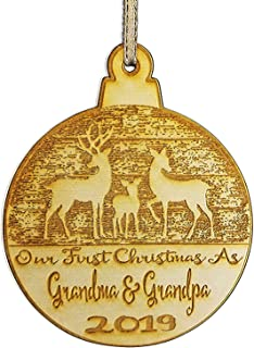 Best our first christmas as grandparents ornament Reviews