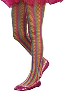 d12489d1dc7d0 SugarSugar Rainbow Fishnet Tights, Medium/Large