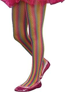 SugarSugar Rainbow Fishnet Tights, Small/Medium