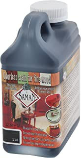 SamaN Interior Water Based Stain for Fine Wood, Navy, 1 Quart
