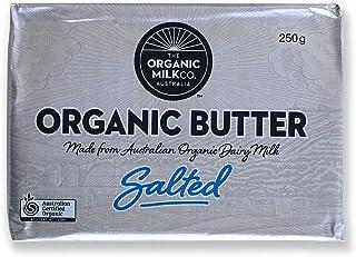 有機 JAS オーガニック 100% グラスフェッドバター 冷蔵 有塩 オーストラリア産 250g×4 合計1kg Australian Certified Organic 100% Grass-fed Salted Butter