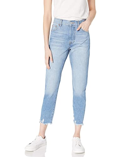 The Drop Women's Audrey Slim High-Rise Straight-Fit Button-Fly Jean
