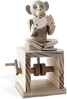 Timberkits - Cheeky Monkey - Mechanical Wooden Construction Kit