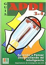 APDI 3 y 4, aprendo a pensar desarrollando mi inteligencia. Guía