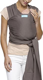 Moby Classic Baby Wrap (Slate) – Baby Wearing Wrap for Parents On The Go-Baby Wrap..