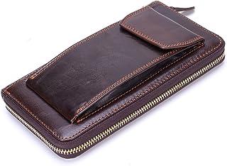 [Misfits] 男性は、革の財布頭には、財布を持って、日本の財布は、財布を持って
