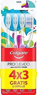Colgate 360° Pro Cuidado Cepillo Dental, 4 Piezas, color, 4 count, pack of aquete de 4