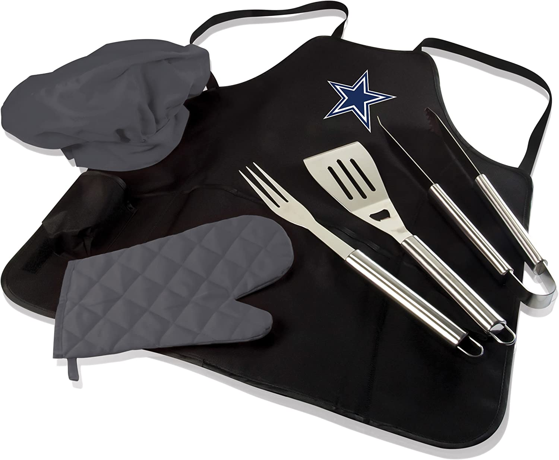 NFL BBQ Apron Tote Pro, Dallas Cowboys