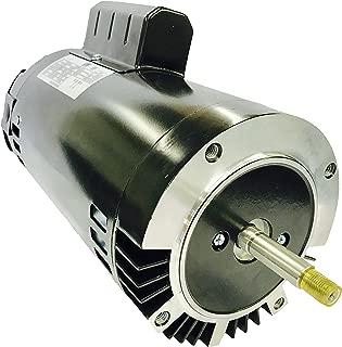 GW YYN5682-L7C 2 HP, 3450RPM, 1.3 Service Factor, 56J Frame, ODP Enclosure, 208-230V, Round Flange Pool Motor