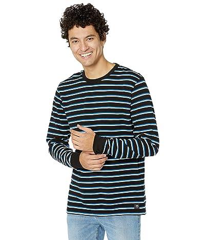 Vans Awbrey II Long Sleeve Knit Shirt (Black) Men