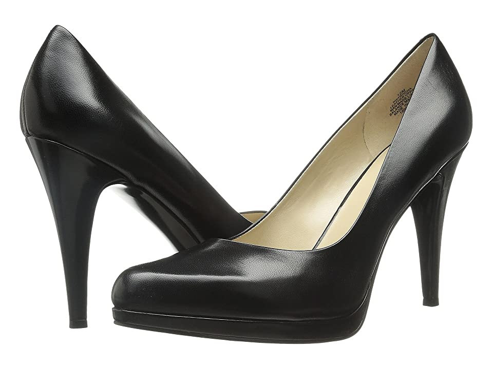 Nine West Rocha (Black Leather) High Heels