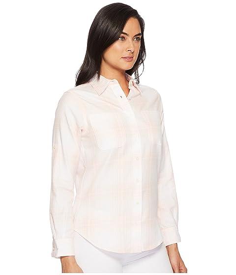LAUREN Ralph Lauren Plaid Rolled-Cuff Cotton Shirt Pink Multi Sale Best Wholesale Outlet Cheap Prices nu2Ij