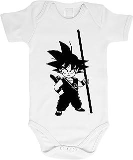 SV Blau Goku Baby Dragon Body Ball b/éb/é Coton Bio Son Proverbes Barboteuses Gar/çons et Filles 0-12