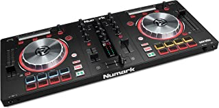 Numark Mixtrack Pro 3 | All-In-One 2-Deck DJ Controller for Serato DJ Including an On-board Audio Interface, 5-Inch High R...
