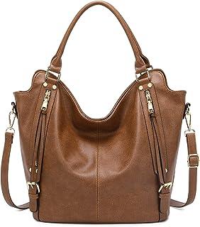 Tote Bag for Women Handbags Designer Ladies Hobo bag Purse Faux Leather with Adjustable Shoulder Strap