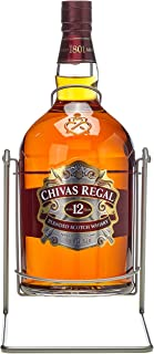 Chivas Regal Scotch 12 Years Old mit Pumpe mit Geschenkverpackung Whisky 1 x 4.5 l