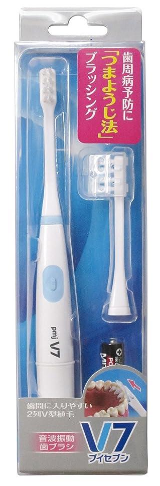 スポークスマンニッケルキネマティクスつまようじ法 音波振動歯ブラシ V-7 本体セット