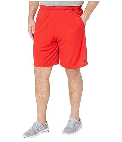 Nike Big Tall Dry Shorts 4.0 (University Red/Black) Men