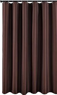 Biscaynebay Fabric Shower Curtain Liner Water Resistant Bathroom 72 X