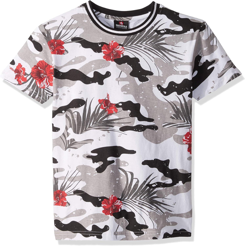 Southpole Boys' Big Print Short Sleeve T-Shirt