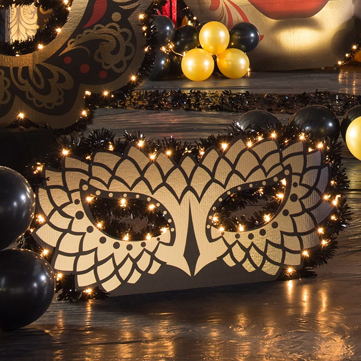 Shindigz - Midnight Masquerade Super beauty product restock quality top! Lighted Max 90% OFF Mask Venetian