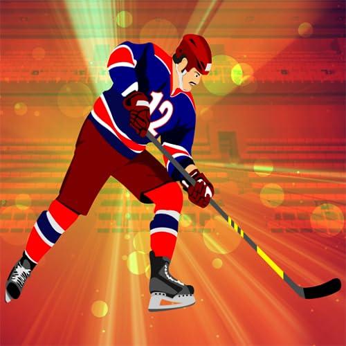 Eis-Hockey Klinge: der Winter Powerplay Schuss Puck Herausforderung - Gratis-Edition