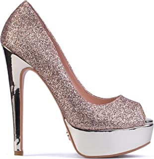 Danielle - Women's Classy & Elegant Peep Toe Pumps with 6