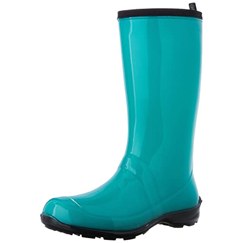 71cbc6ae4 Women's Turquoise Rain Boots: Amazon.com