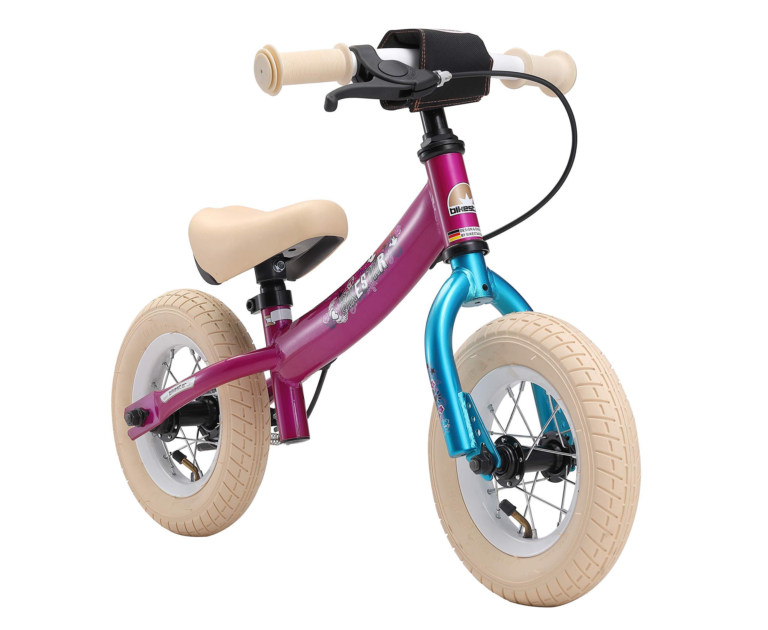 BIKESTAR Bicicleta sin Pedales para niños y niñas   Bici 10 ...