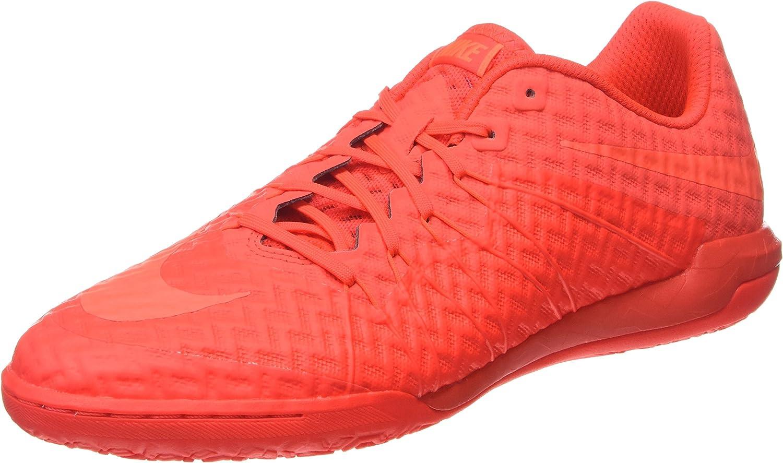 Nike Men's Hypervenomx Finale IC Indoor Soccer shoes Bright Crimson