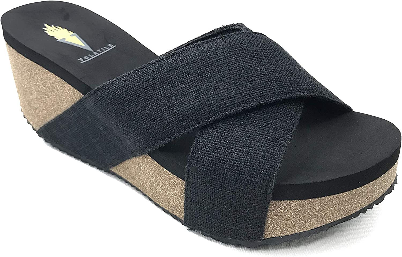 Volatile Women's Mantle Wedge Sandals