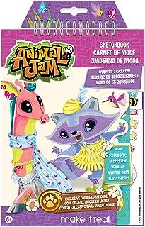 Make it Real 4102 Animal Jam Sketch Book (Large)