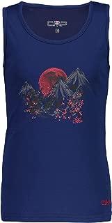 CMP Funktionsshirt Shirt Girl Top dunkelblau atmungsaktiv antibakteriell Piqué