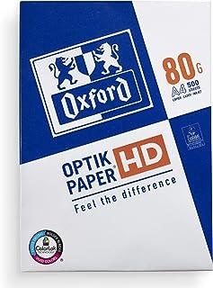 Oxford Ramette de 500 feuilles de papier pour imprimante DIN A4 80 g/m² Blanc