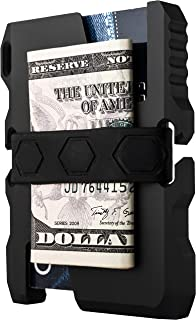 Tactical EDC Minimalist Slim Wallet RFID Blocking - Men & Women Front Pocket Credit Card Holder