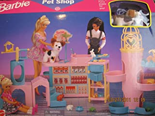 Barbie Pet Shop Playset w Puppy Dog 3