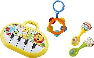 Kit Musical Fisher Price, Mattel, Amarelo