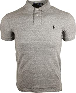 Polo Ralph Lauren Mens Heathered Mesh Polo Shirt