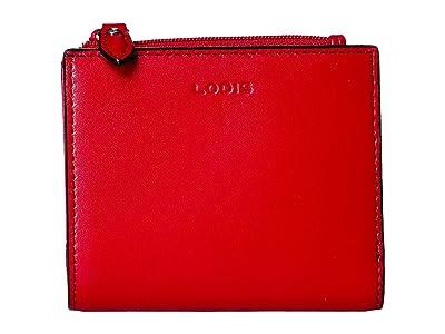 Lodis Accessories Audrey RFID Aldis Wallet (Red) Wallet Handbags
