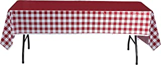 Best yellow gingham round tablecloth Reviews