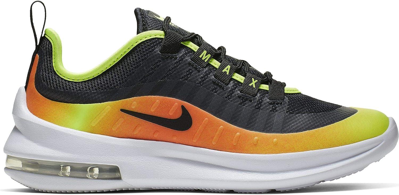 Nike Men's Air Max Axis Rf (gs) Track & Field shoes, Multicolour Black Volt Total orange 000, 6 UK