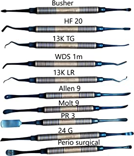 Periosteal Dental Elevators Kit 10 pcs Periosteum Elevator implant Elevators