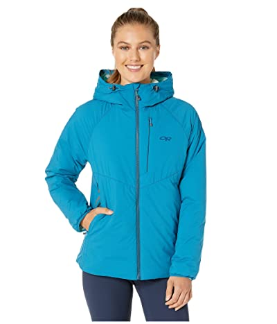 Outdoor Research Refuge Hooded Jacket (Celestial Blue) Women