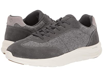 Hush Puppies Slater Sneaker (Dark Grey Wool/Suede) Men