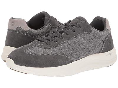 Hush Puppies Slater Sneaker (Dark Grey Wool/Suede) Men