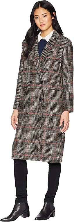Adi Plaid Duster Coat