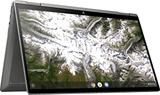 HP (エイチピー) x360 2イン1 14インチ フルハイビジョン タッチスクリーン Chromebook クロームブック 第10世代 Intel (インテル) Core i3-10110U 8GB RAM 64GB eMMC B&...