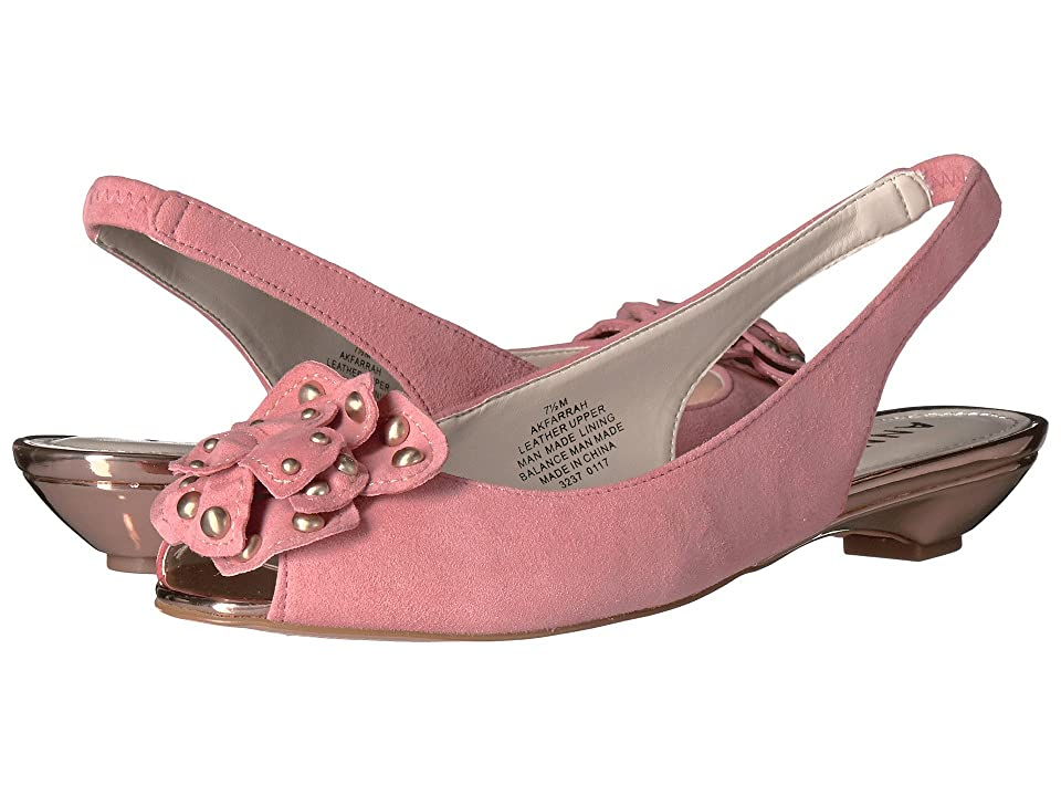 Anne Klein Farrah (Medium Pink Suede) Women