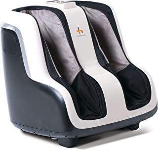 Human Touch Reflex SOL Foot and Calf Vibration Massager - Patented Technology - Extended Height, Adjustable Tilt Base (Renewed)